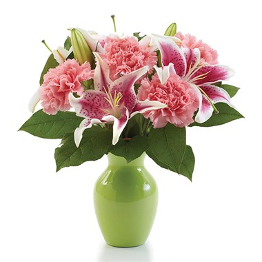 Perfectly Pink flower bouquet (BF57-11KS)