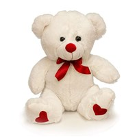 White_Sitting_Valentine_bear_20